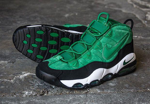 brand new a8612 1e00f Nike Air Max Uptempo - Pine Green - Black - SneakerNews.com ...