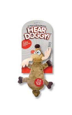 Hundespielzeug Crazy Rudolph Niedliches Weihnachts-Spielzeug für Hunde hier im Shop.