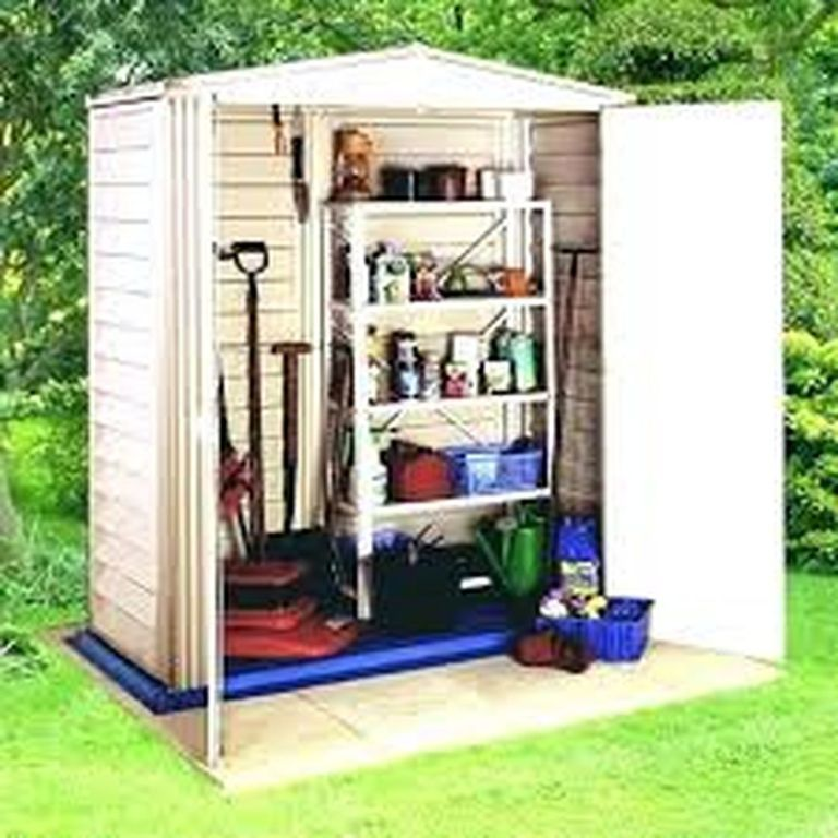 30 Brilliant Small Garden Shed Storage Ideas Goodsgn Plastic Sheds Garden Shed Interiors Shed Storage