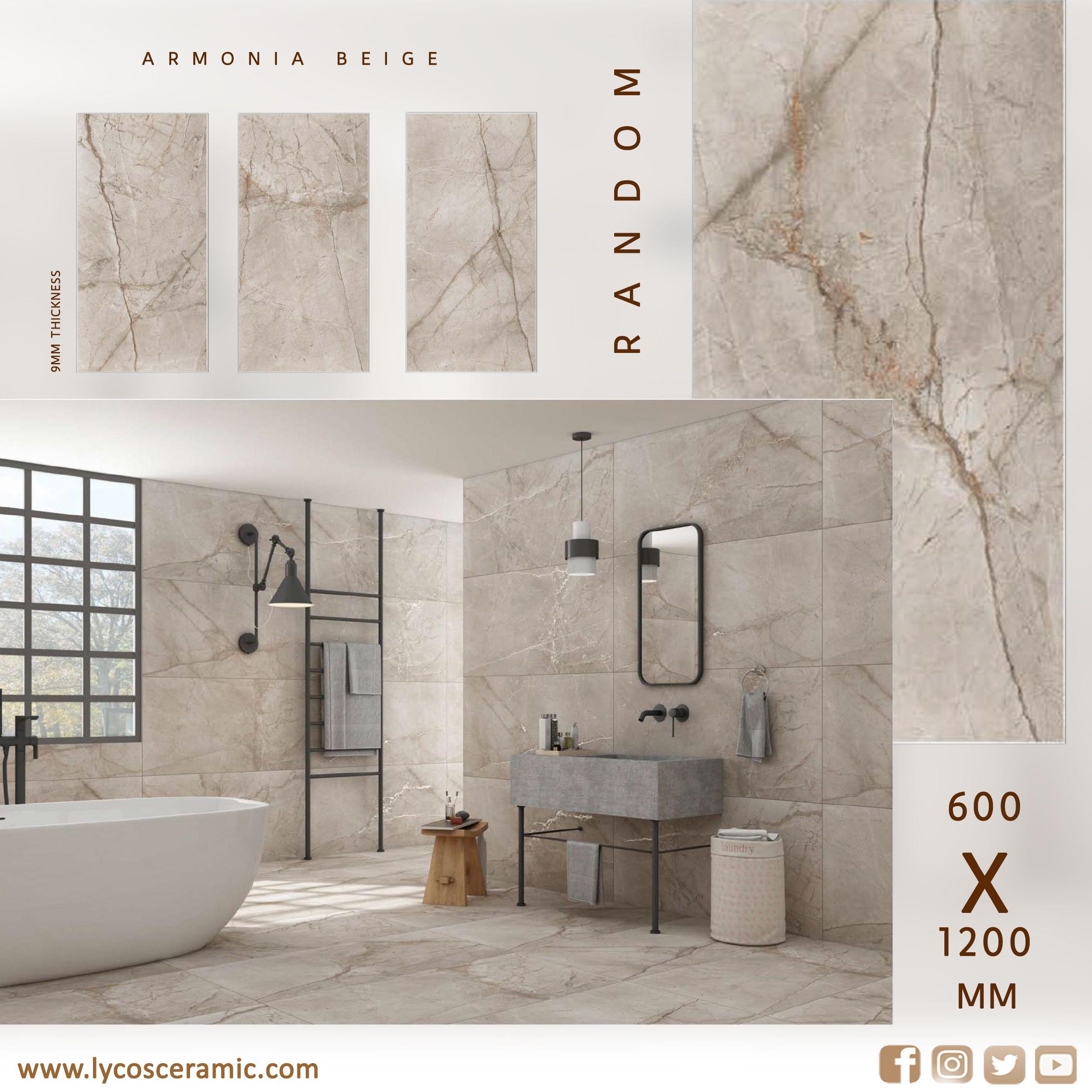 60x120 Cm Porcelain Tile In 2020 Tile Bathroom Porcelain Flooring Room Tiles
