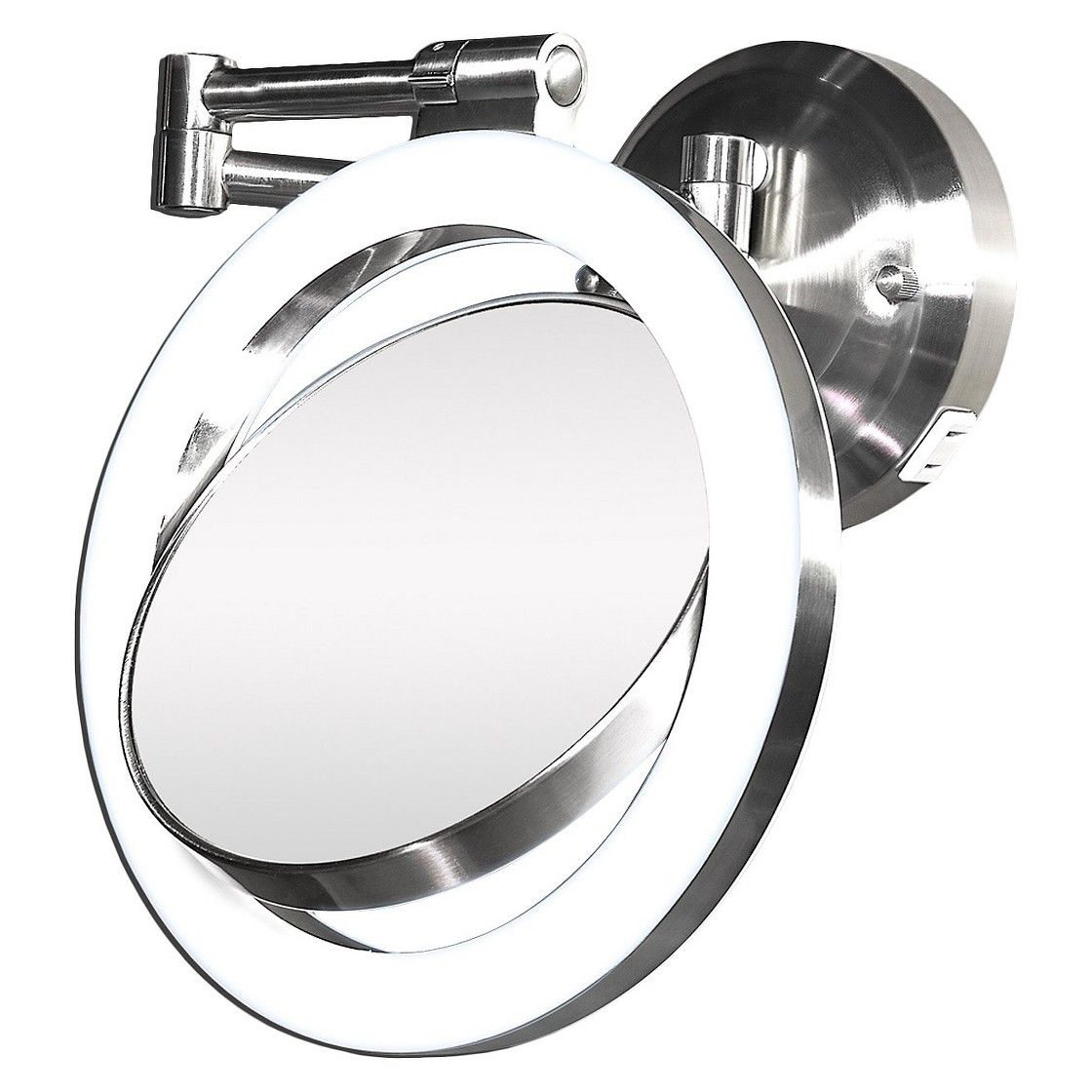 Zadro MakeUp Mirror 2-Side Dimmable, Satin Nickel | Make up and Target