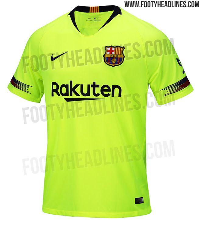 1d41e663c Update  FC Barcelona 18-19 Away Kit Leaked - Footy Headlines ...