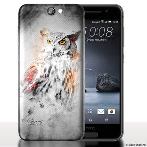 Coque HTC ONE A9 Hibou. #A9 #Hibou #Coque #HTC #Owl