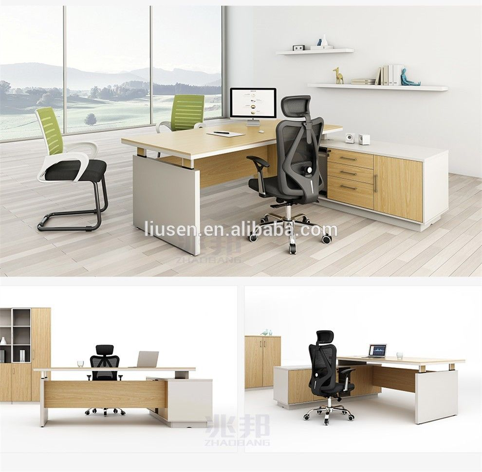 Factory Wholesale Price Luxury Standard Office Desk Dimensions ...