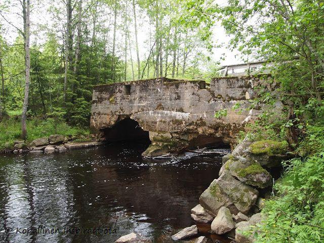 Kopallinen inspiraatiota Perhojoki - Isokosken kota - Vesivoimalan rauniot - nature - wreck - Finland
