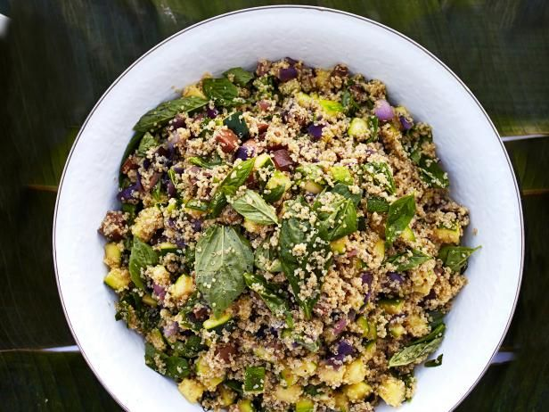 Quinoa salad with grilled zucchini and habanero oil recipe quinoa salad with grilled zucchini and habanero oil forumfinder Gallery
