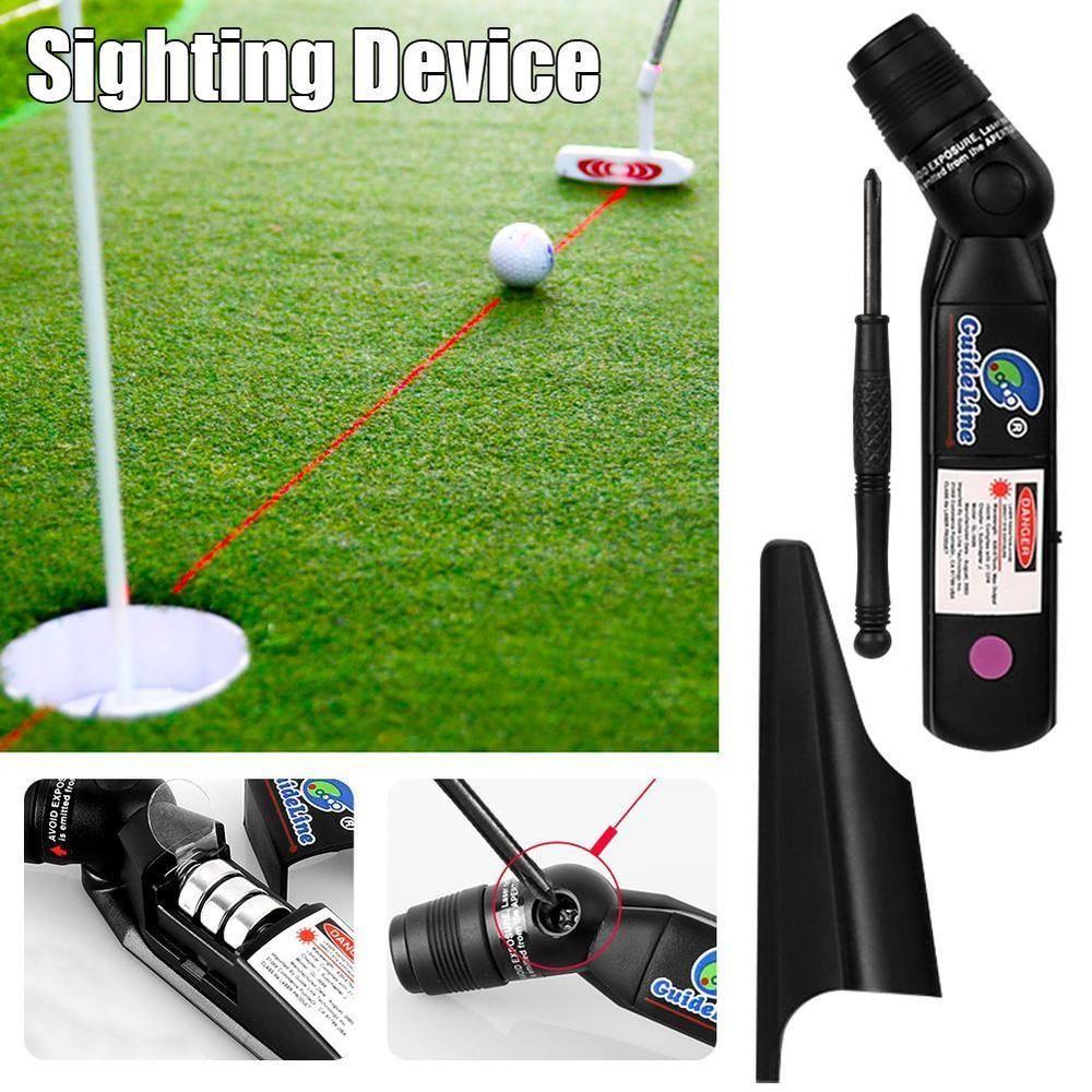 57820d3e414f Indoor PGM Golf Laser Training Putter Sighting Device Pointer Putt Practice  Aid (eBay Link)