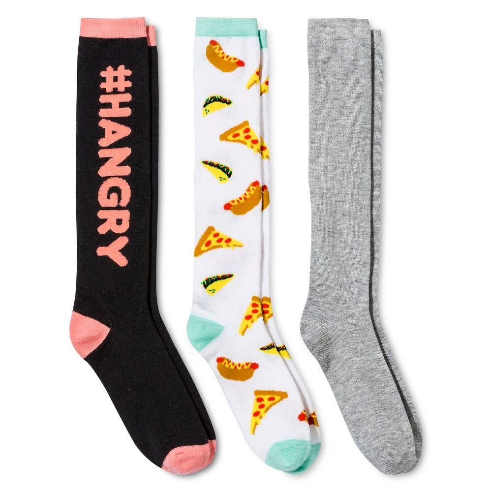 bbd39764896 Women s Knee High Socks 3-Pack