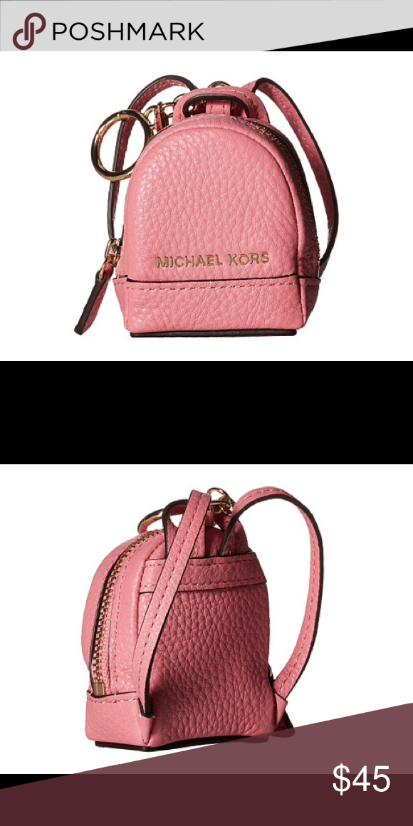 76e943a4f5104 M Kors pink keychain Michael Kors pink keychain. New with tag. Can be used  as a bag chain. Pink bag. accessories Michael Kors Accessories Key   Card  Holders