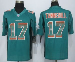 2015 New Miami Dolphins #17 Tannehill Green Strobe Limited Jersey  supplier