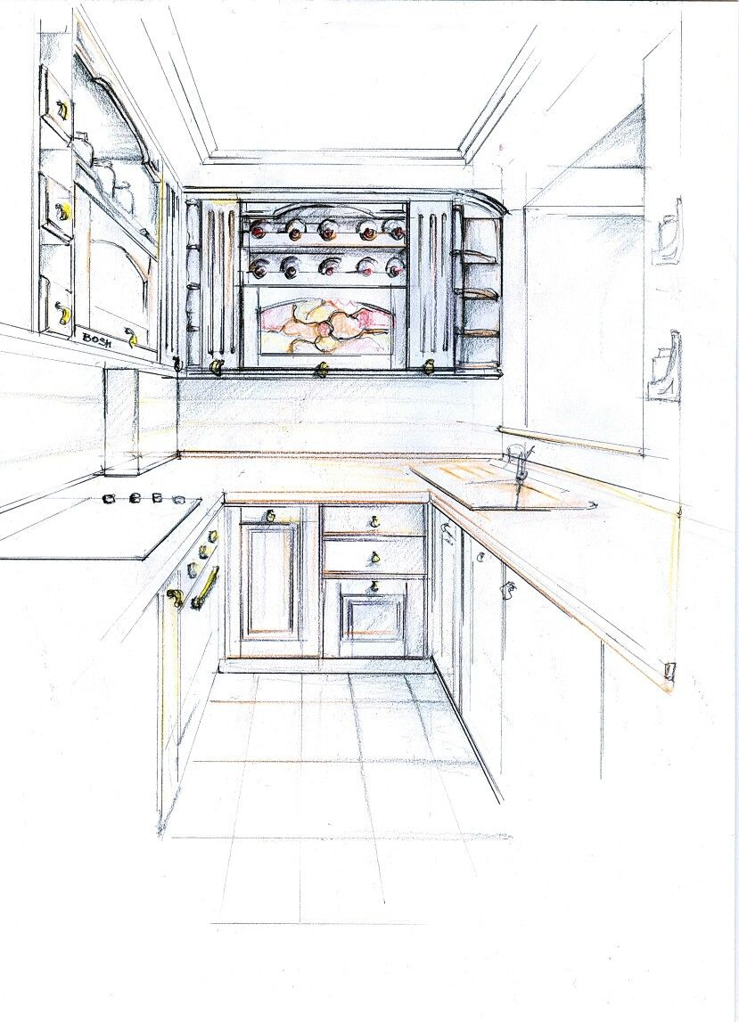 Cucina Interior Design Rustic Sketch Of Kitchen Design Rustic Finishing Rustic With White