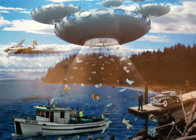 UFO Sightings - The Incident at Maury Island