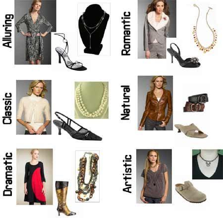 Examples Of 6 Fashion Syles Fashion Types Pinterest Fashion