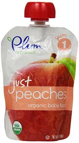 News Plum Organics Baby Just Fruit, Peaches, 3.5 Ounce Pouches (Pack of 12)   buy now     $14.98 All for yum, Plum for all. At Plum Organics, we have a passion for yummy food and so do our babies! We've created only the p... http://showbizlikes.com/plum-organics-baby-just-fruit-peaches-3-5-ounce-pouches-pack-of-12/