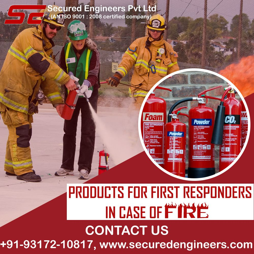 Use firstclass fire protection devices to control small