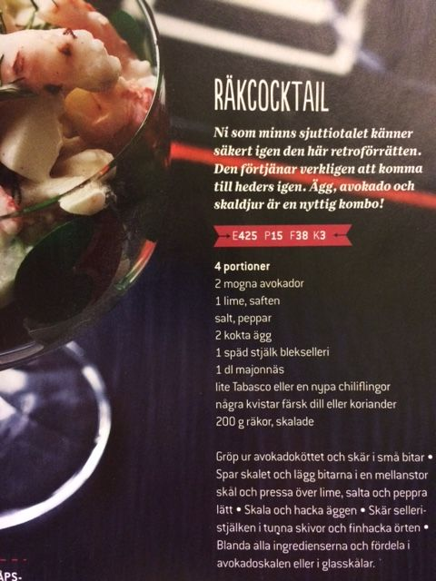 Räkcocktail