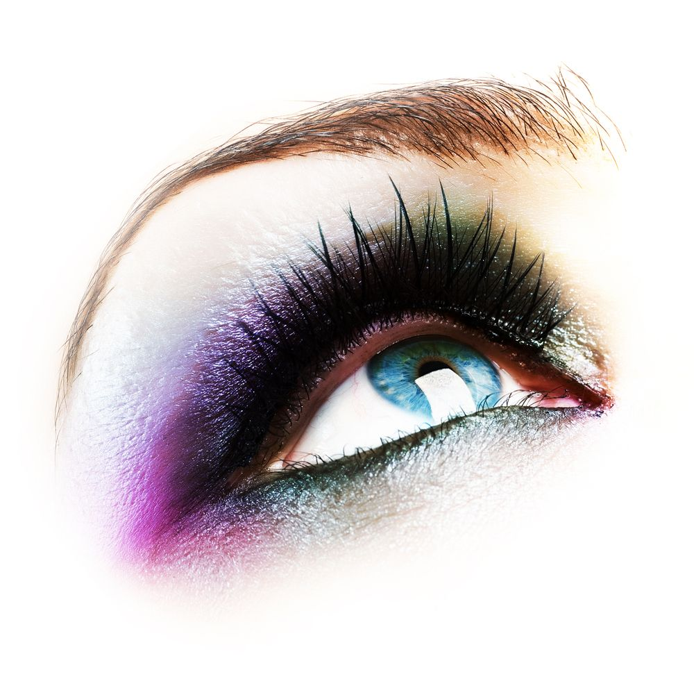 Image detail for -Eye-Makeup-isolated-on-white