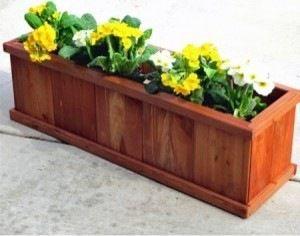 Robusto 40 Rectangular Planter Traditional Outdoor 400 x 300