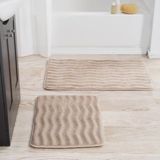 Windsor Home 2 Piece Memory Foam Bath Mat Set 24 5 X 17 Sets