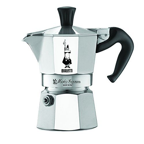 The Original Bialetti Moka Express Made In Italy 1 Cup Stovetop