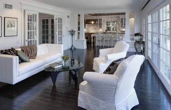 How To Use Dark Floors To Brighten Your Dull Home Living Room