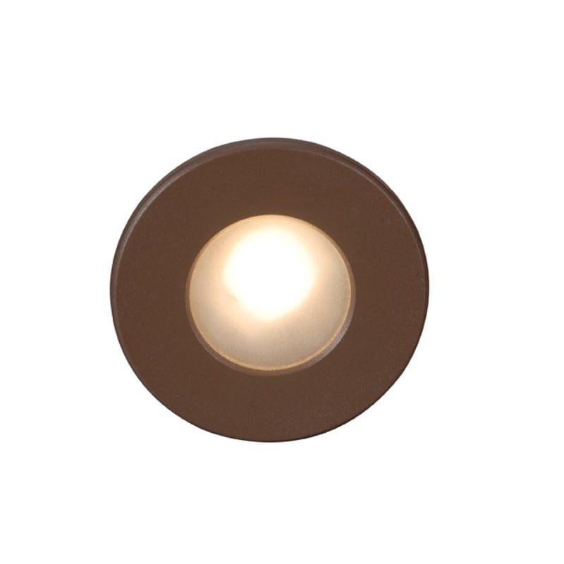 Wac Lighting Wl Led310 C Ledme 4 Tall Led Step And Wall Light With Clear Lens Bronze Outdoor Lighting Landscape Lighting Hardscape Lights Led Step Lights Wall Lights Outdoor Lighting Landscape