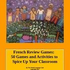 These French review games, activities, and ideas will put the fun back into your classroom.  Teach your students French while:  designing T-shi...