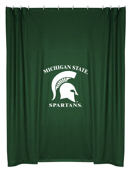 Michigan State Spartans Shower Curtain Michigan State Spartans Michigan State University Michigan