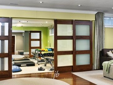 For the workout room briar hill contemporary home gym