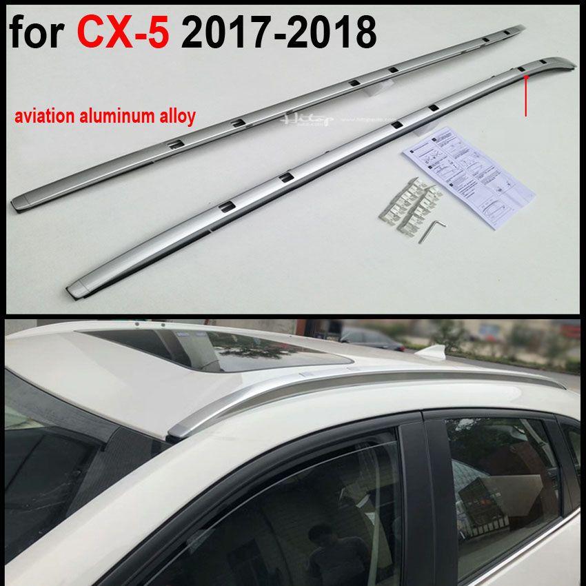 HOT chromed roof bar roof rail+cross bar roof rack for