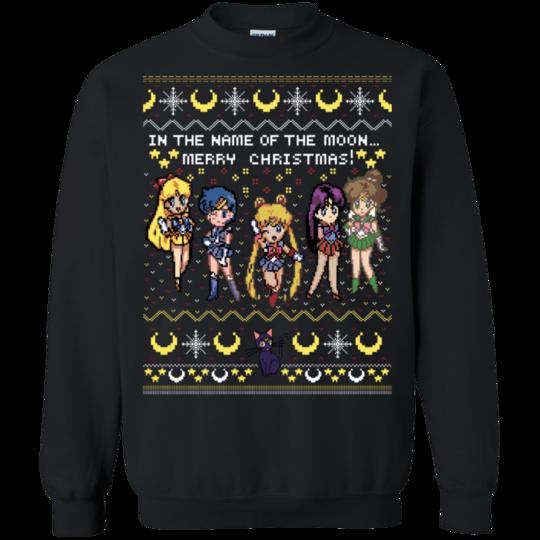 Sailor Moon Christmas Sweater.Sailor Moon Ugly Christmas Sweater Sailor Moon Ugly