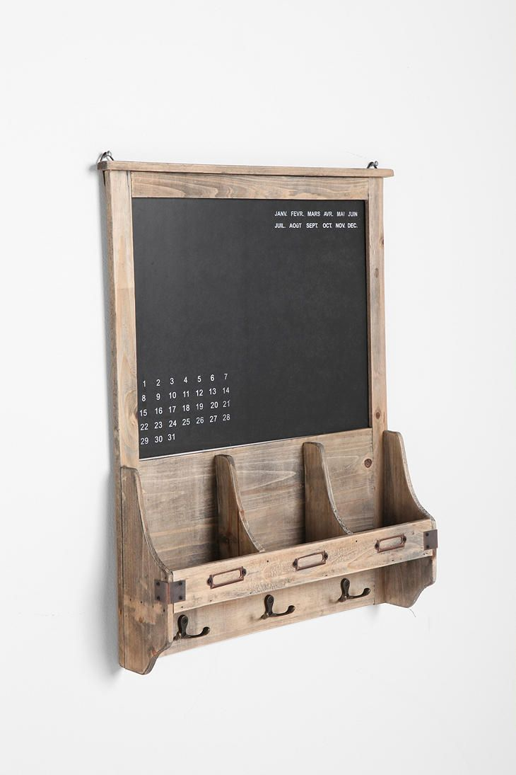 Vintage Wood Calendar Chalkboard, $49.00 at Urban Outfitters. LOVE!