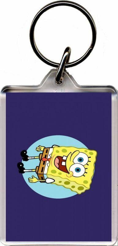 Spongebob - Plastic Key Ring B