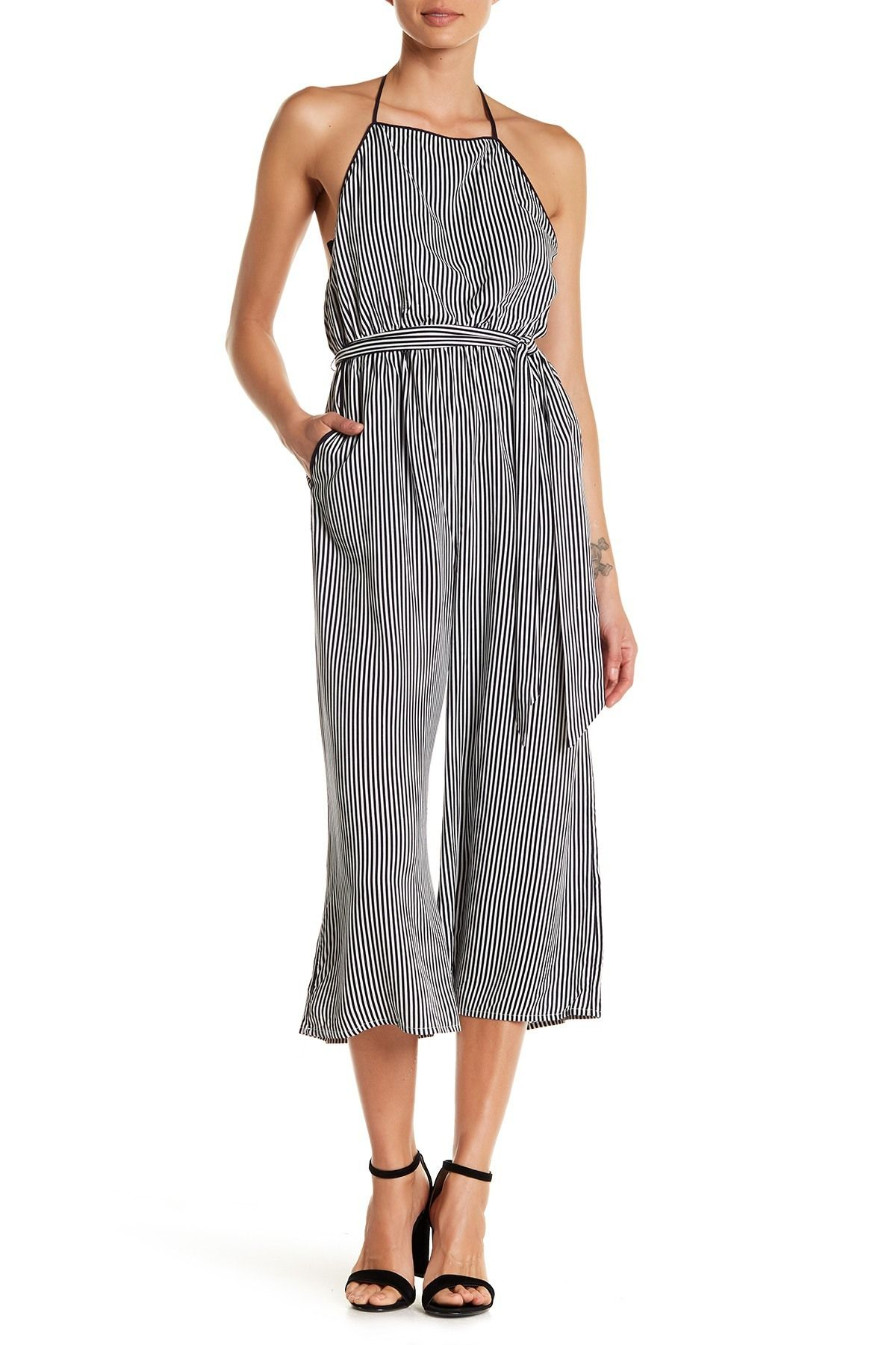 c34c48d1909 AAKAA - Stripe Jumpsuit. Free Shipping on orders over  100.