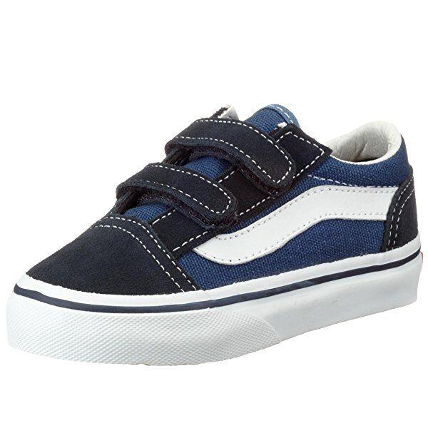 Vans Vd3Y sin cordones, Azul, 21