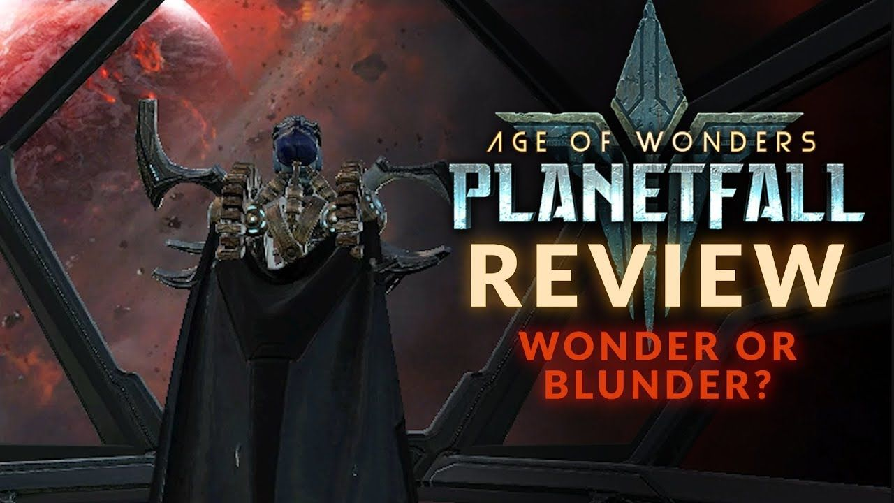 AGE OF WONDERS: PLANETFALL | REVIEW - Wonder or Blunder? (PC Sci-Fi Stra...