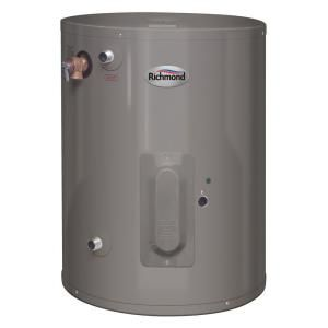 Richmond 15 Gal Electric Point Of Use Electric Water Heater 6ep15 1 At The Home Depot Mob Electric Water Heater Water Heater Installation Gas Water Heater
