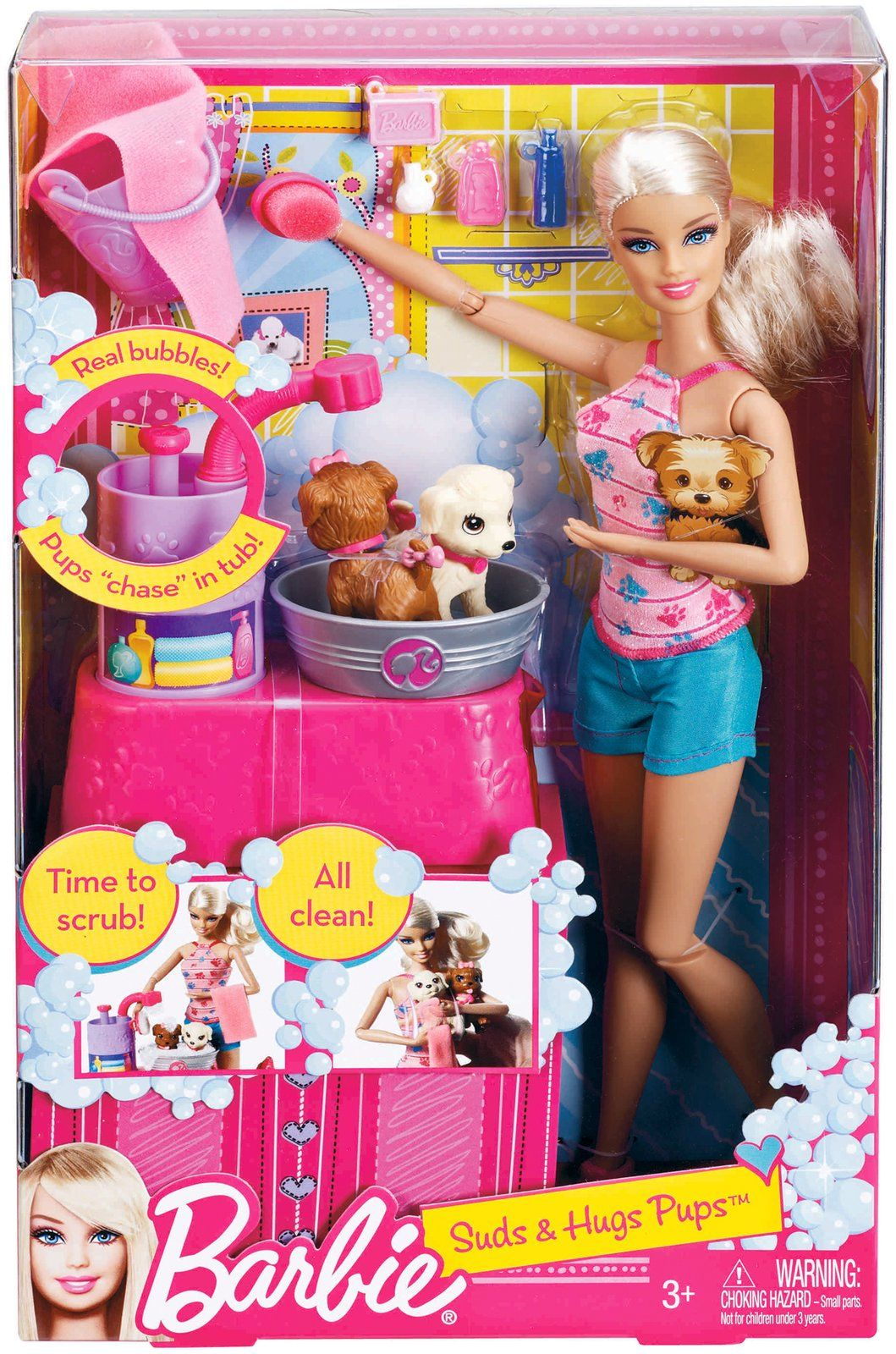 Barbie deluxe furniture stovetop to tabletop kitchen doll target - Barbie Suds Hugs Pups Playset Free Shipping