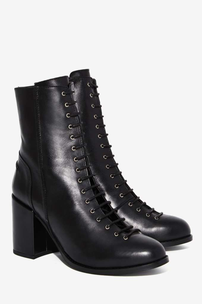 Gully Lace-Up Leather Boot - Shoes | Boots + Booties