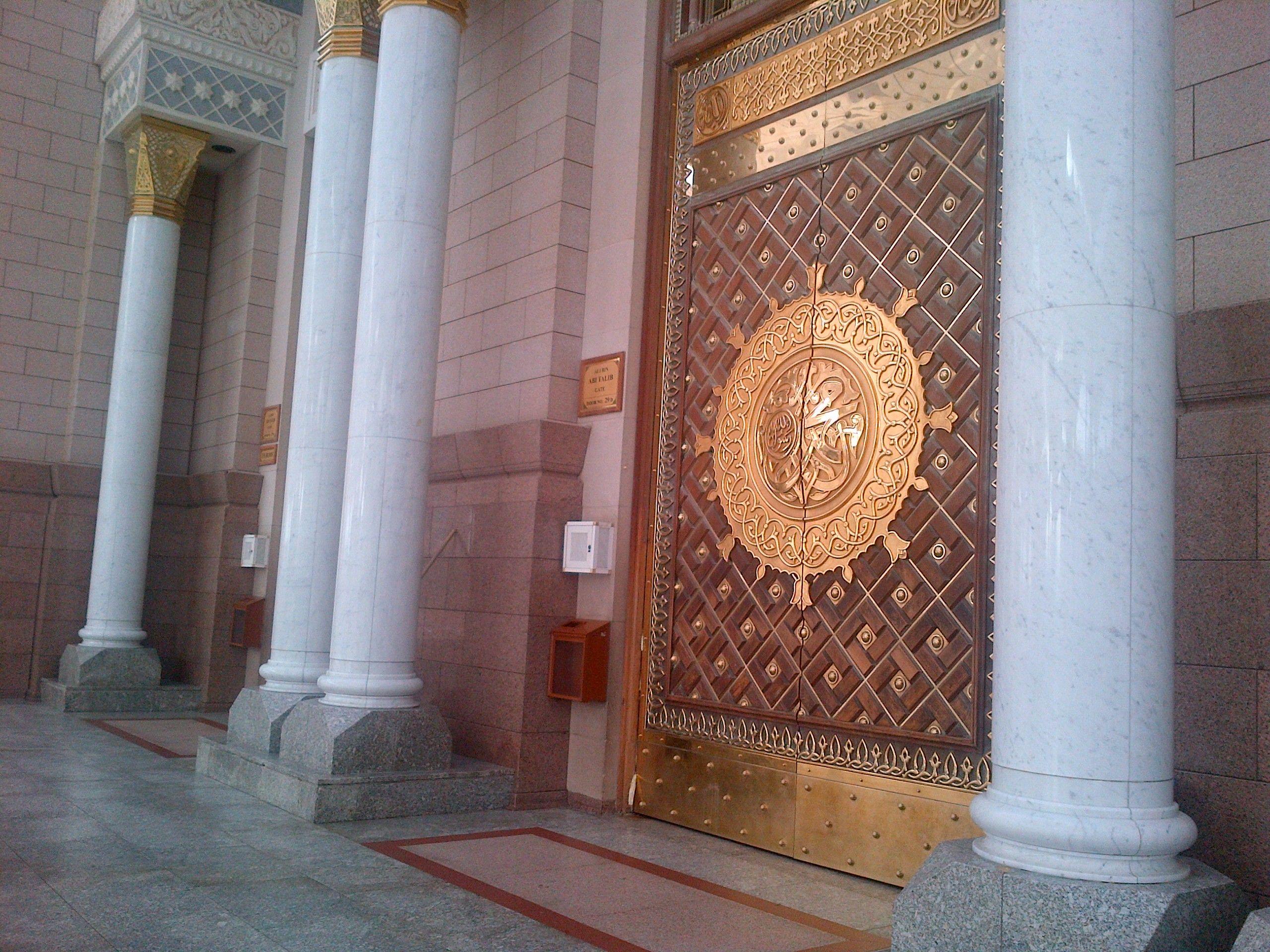 Door at masjid nabawi & Door at masjid nabawi | Makkah and Madina Al Aqsa | Pinterest ...