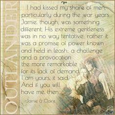 Outlander quote/Jamie & Claire