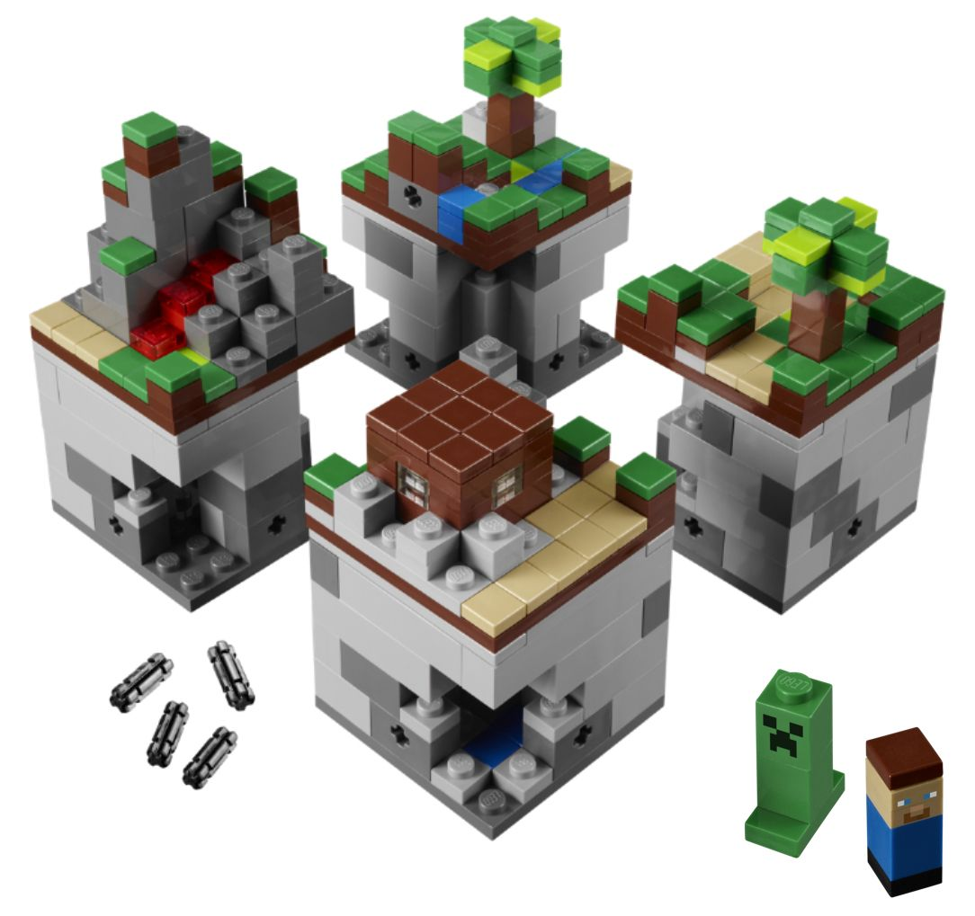Lego Minecraft 21102 Micro World with Steeve