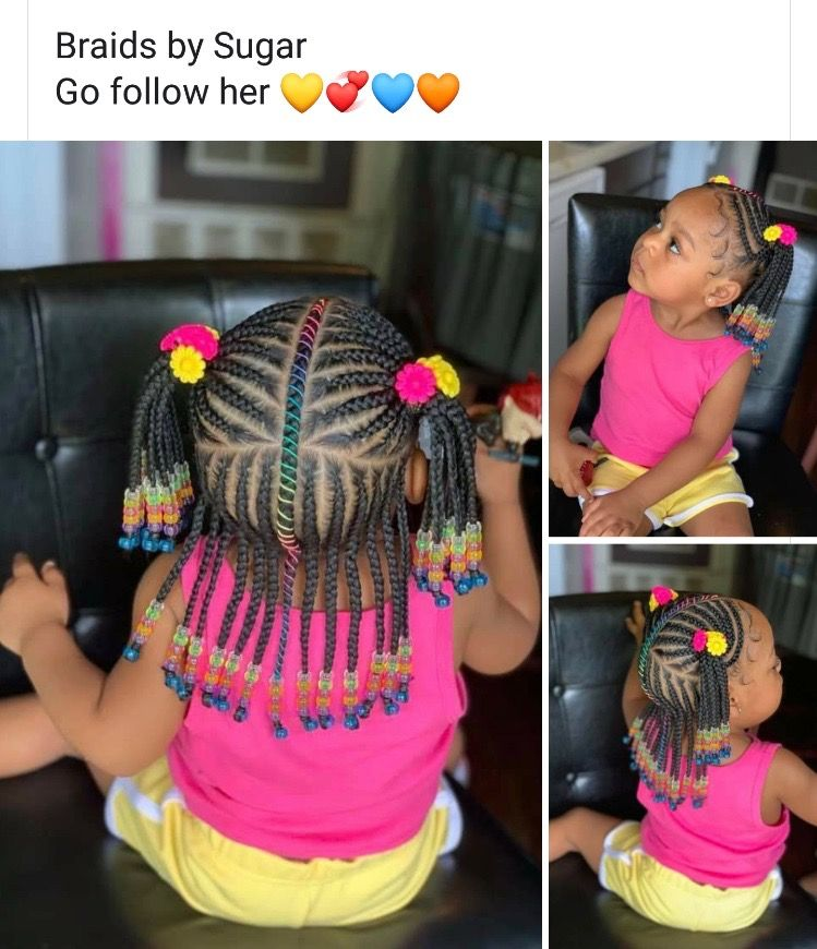 Pin By Mrs Foskey On Princess Mirah Baby Girl Hairstyles Kids Hairstyles Hair Styles