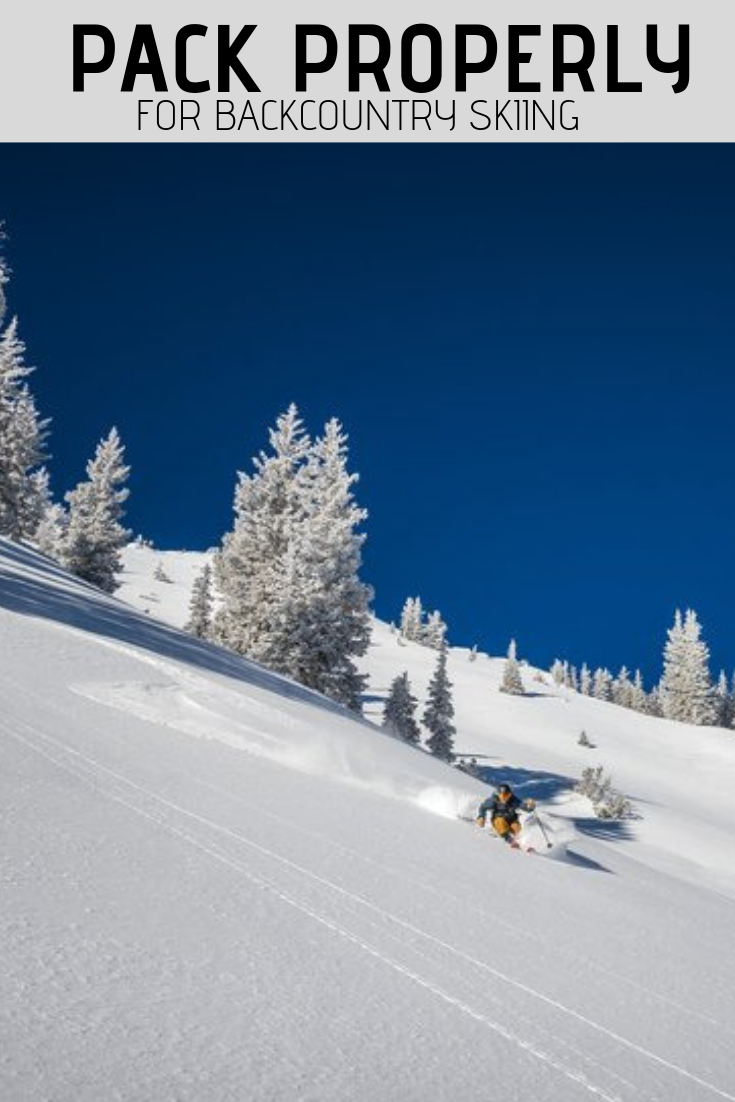 How You Layer And What You Take With You Can Make Or Break Your Experience In The Backcountry So Rather Than G Utah Ski Resorts Backcountry Skiing Backcountry
