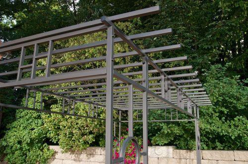 Rosenbogen Modern pergola rosenbogen garten metall anthrazit cl alba jpg 500 331