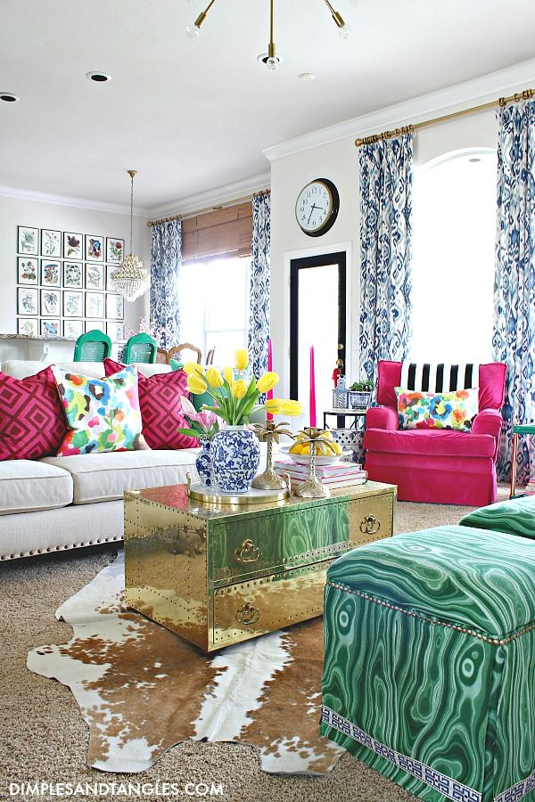 Photo of IT'S A COLORFUL LIFE- SPRING HOME TOUR 2020