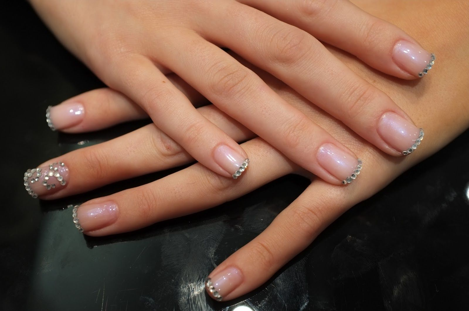 Diamond Nails - Glamorous | Nail Colors & Designs to Glamorize your ...