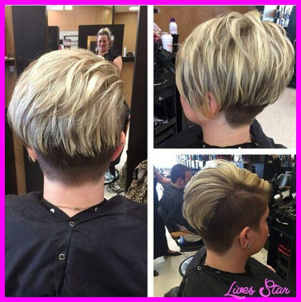 Cool Short Haircuts With Stacked Back