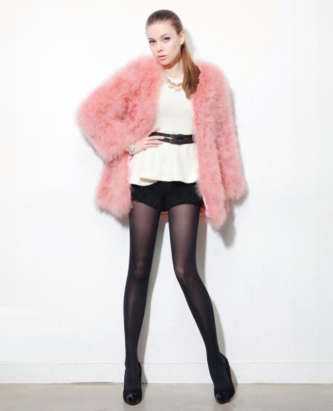 Find More Fur & Faux Fur Information about 2014 NewSpring Faux Fur Coat WomenSolid Cardigan Fur Coat Long Sleeve V Neck Slim Waist Temperament Top Quality Overcoat,High Quality Fur & Faux Fur from meilishuo on Aliexpress.com