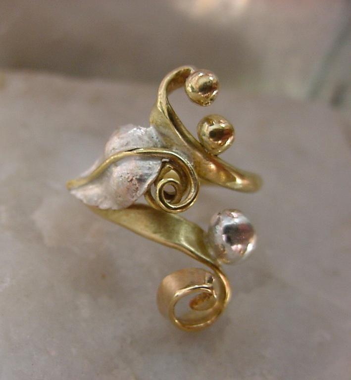 Autorski Pierścień - Atelier Glass